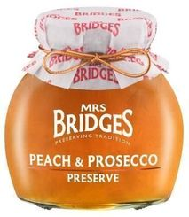 Mrs. Bridges Peach & Prosecco Preserve - 340g - sold out