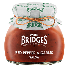 Mrs. Bridges Red Pepper & Garlic Salsa - 100g
