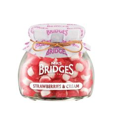Mrs. Bridges Strawberries & Cream Sweets - 155g - Not Available 2019