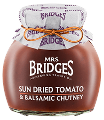Mrs. Bridges Sun Dried Tomato & Balsamic Chutney - 100g - Sold Out