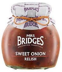 Mrs. Bridges Sweet Onion Relish - 100g - Sold Out