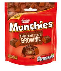 Munchies Chocolate Fudge Brownie Sharing Pouch - 101g - Sold Out