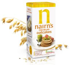 Nairn's Fine Milled Oatcakes - 218g