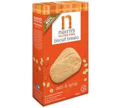 Nairn's Biscuit Breaks Oats & Syrup - Gluten Free - 160g