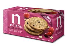 Nairn's Oat Biscuits Mixed Berries - 200g - 5 In Stock