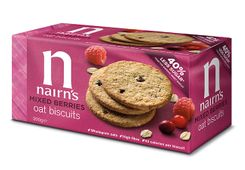 Nairn's Oat Biscuits Mixed Berries - 200g