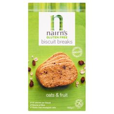 Nairn's Oats & Fruit Biscuit Breaks - Gluten Free - Sold Out