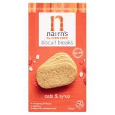Nairn's Oats & Syrup Biscuit Breaks - Gluten Free - Sold Out