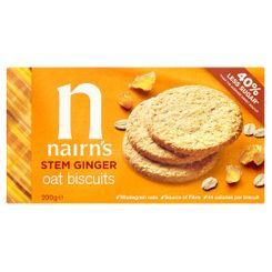 Nairn's Stem Ginger Oat Biscuits - 200g - Sold Out