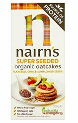 Nairns Organic Super Seed Oatcakes - 200g - Sold out