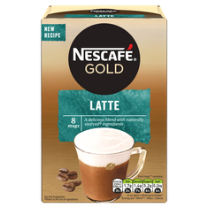 Necafe Gold Latte - 124g - 8 packets