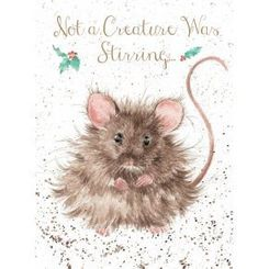'Not a Creature was Stirring' Christmas Card - Sold Out