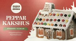 Nyåkers Gingerbread House - Sold Out