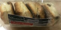 O'Donnell's Fruit Scones - 4pk