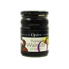 Opies Pickled Walnuts with Ruby Port - 370g