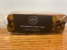 Original Cake Co. Rich Brandy Fruit Cake - 280g - Sold Out