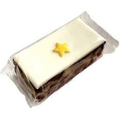 original cake company Christmas Iced Fruit Cake with Gold Star - Sold Out