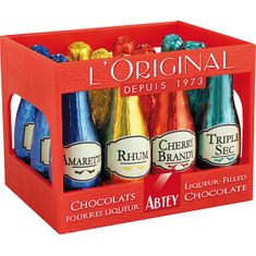 Abtey L'Original Liqueur-Filled Bottles Crate - 12pc - Sold Out 2020