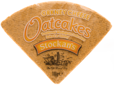 Stockan's Orkney Cheese Oatcakes - 100g