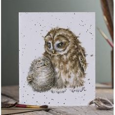 """""""Owl-Ways by Your Side"""" Card"""