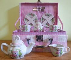 Owls Teaset - Sold Out