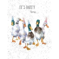 """""""Party Time"""" Card"""