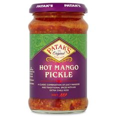 Patak's Hot Mango Pickle - 283g - 3 In Stock