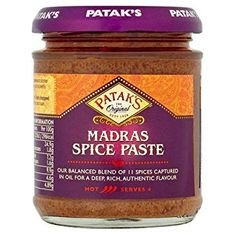 Patak's Madras Spice Paste - 165g - Sold Out