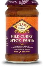 Patak's Mild Curry Spice Paste - 283g