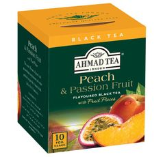 Ahmad Peach and Passion Fruit - 10ct Bags - Sold Out