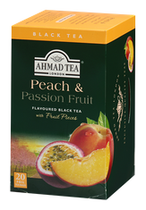 Ahmad Peach & Passion Fruit - 20ct Bags - 3 In Stock