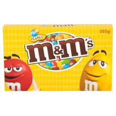 Peanut M&M's Large Box - 365g - Not Available 2019