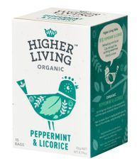 Higher Living Peppermint & Licorice - 15ct Bags