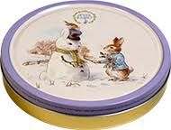 Jacobsens Peter Rabbit Danish Butter Biscuit Tin - Snow Rabbit - 400g - Sold Out 2020