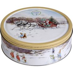 Jacobsens Peter Rabbit Danish Butter Biscuit Tin - Santa's Sleigh - 400g - Sold Out 2020