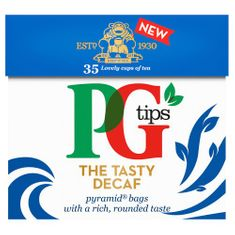 PG Tips Decaf - 35ct Bags