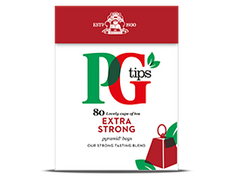 PG Tips Extra Strong - 80ct Bags