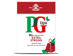 PG Tips Extra Strong - 80ct Bags - 3 In Stock
