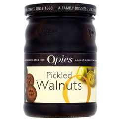 Opies Pickled Walnuts in Malt Vinegar - 390g - 6 In Stock