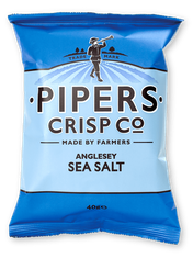 Pipers Anglesey Sea Salt Crisps - 40g - Sold out