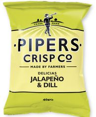 Pipers Crisp Co. Jalapeno & Dill - 150g-Sold Out