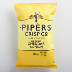 Pipers Crisps Co. Cheddar & Onion - 150g - Sold Out