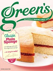 Green's Vanilla Sponge Mix - 221g - Sold Out