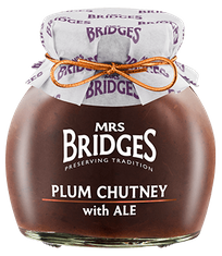 Mrs. Bridges Plum Chutney with Ale - 285g