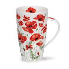 Dunoon Poppies Red - Henley