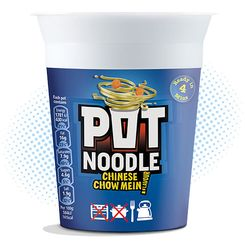 Pot Noodle Chinese Chow Mein - 90g
