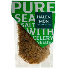 Halen Mon Pure Sea Salt with Celery Seeds - 100g - BB Sept 2020 - 3 in stock