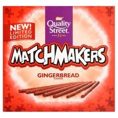 Quality Street Matchmakers Gingerbread Flavour - 120g -Sold Out 2020