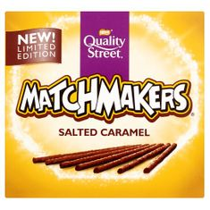 Quality Street Matchmakers Salted Caramel - 120g - Sold Out 2020