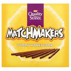Quality Street Matchmakers Yummy Honeycomb - 130g - Not Available 2019